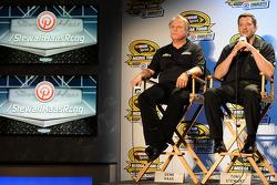 Gene Haas and Tony Stewart