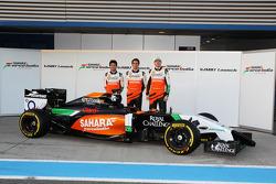 Sergio Pérez, Sahara Force India F1, Daniel Juncadella, Sahara Force India F1 Team Piloto de Prueba