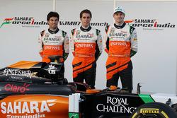 Sergio Pérez, Sahara Force India F1, Daniel Juncadella, Sahara Force India F1 Team Piloto de Pruebas
