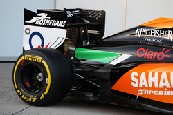 Sahara Force India F1 VJM07 launch - rear wing detail