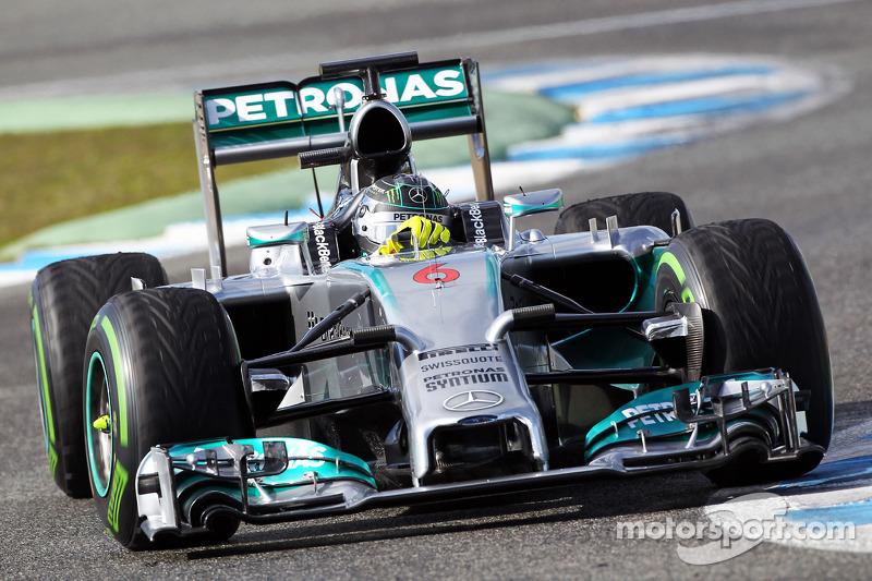 2014: Mercedes F1 W05 Hybrid