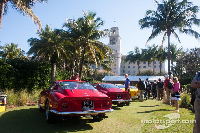 Ferrari 275 GTBs on display