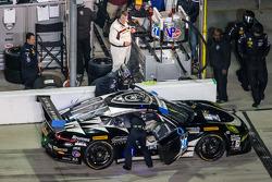 Pitstop: #27 Dempsey Racing Porsche 911 GT Amerika: Patrick Dempsey, Joe Foster, Andrew Davis, Marc Lieb