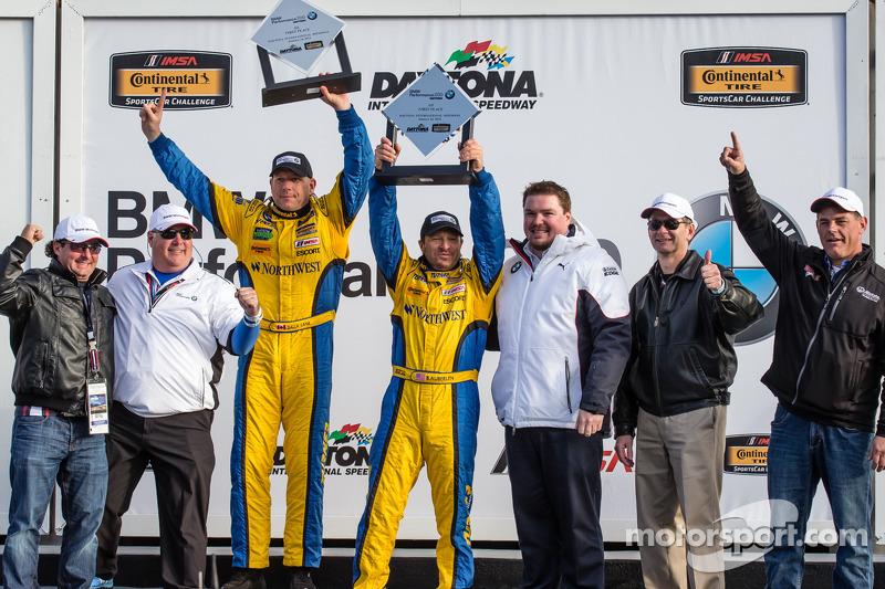 GS podio: vincitori della corsa Bill Auberlen e Paul Dalla Lana