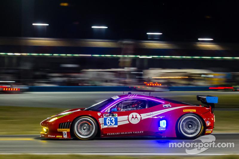 #63 Scuderia Corsa 法拉利 458 Italia: 亚历山德罗·巴尔赞, 杰夫·韦斯特法尔, 托尼·维兰德, 洛伦佐·卡斯