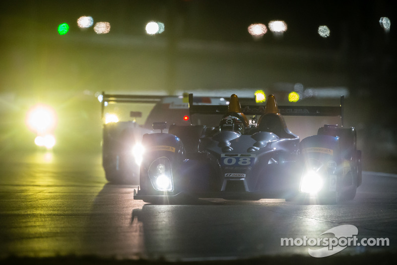 #08 RSR Racing ORECA FLM09: Chris Cumming, Alex Tagliani, Rusty Mitchell, Conor Daly