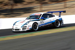 #67 Motorsport Services Limited Porsche 997 GT3 Kupası: Jeff Lowrey, Tony Richards, Jonathan Venter