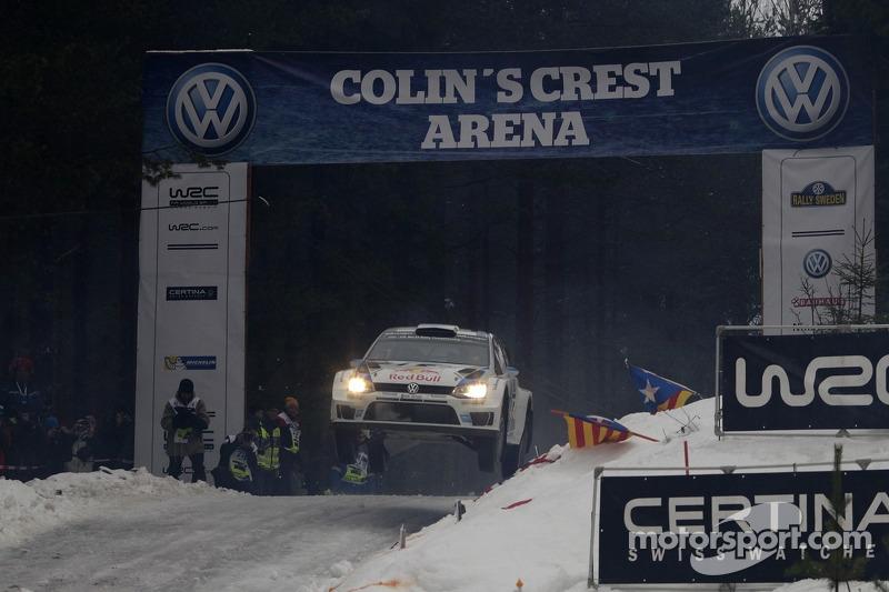 #1 大众 Polo R WRC: 塞巴斯蒂安·奥吉尔, 朱利安·因格莱西亚