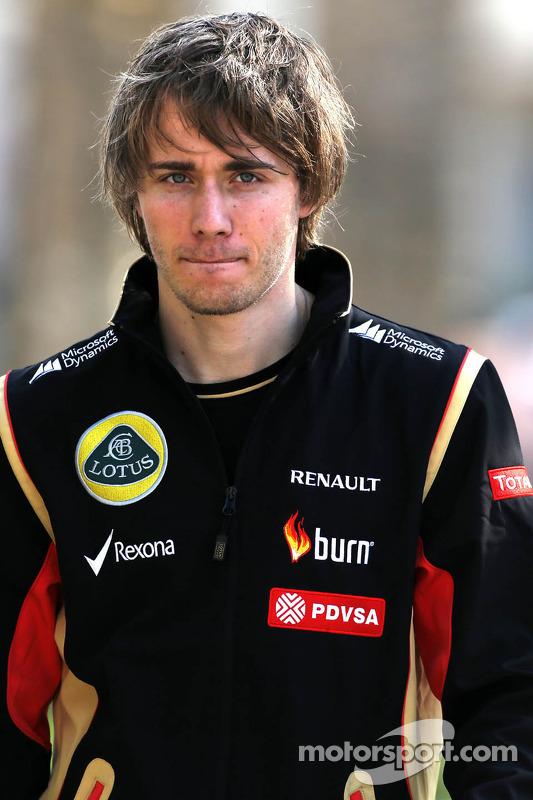 Charles Pic, Lotus F1 Team, Testfahrer