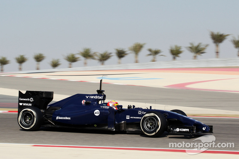 Felipe Nasr, Williams FW36 Test and Reserve Driver