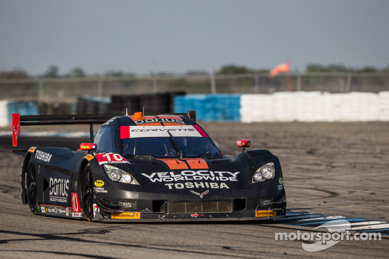 #10 Wayne Taylor Racing Corvette DP Chevrolet: Max Angelelli, Ricky Taylor, Jordan Taylor