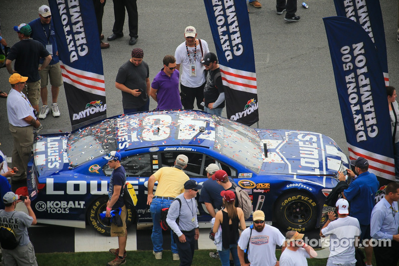2013 Daytona 500 winning car