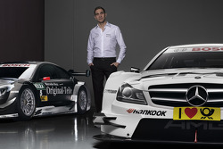 Vitaly Petrov con Mercedes AMG C-Coupes