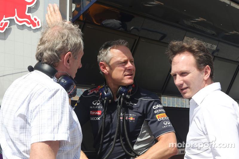 Dr Helmut Marko, Red Bull Racing, Sportif Direktör