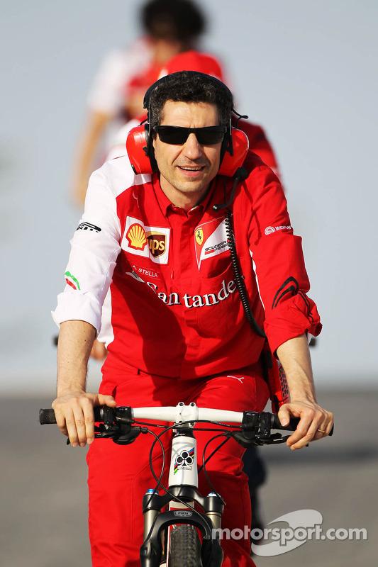 Andrea Stella, Ferrari, Renningenieur