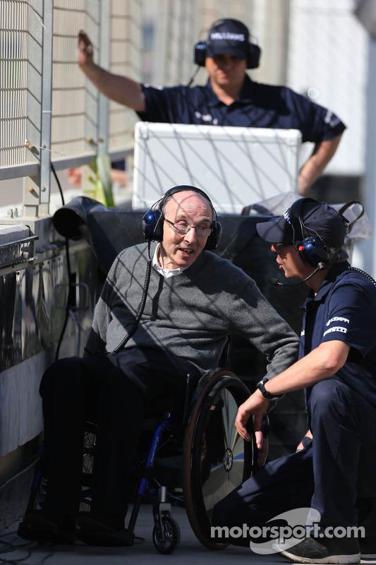 Sir Franck Williams, Williams F1 Team dono