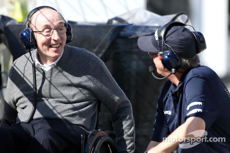 Sir Frank Williams, padrone Williams F1 Team