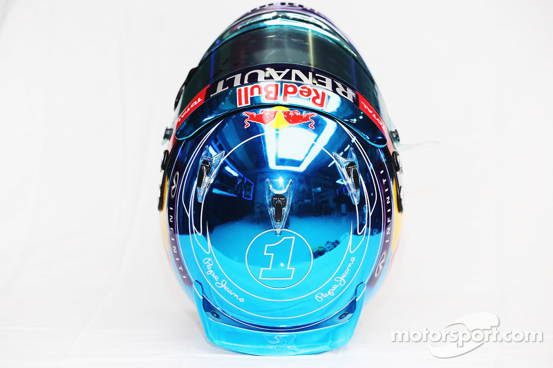 Il casco di Sebastian Vettel, Red Bull Racing
