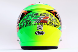 The helmet of Sergio Perez, Sahara Force India F1