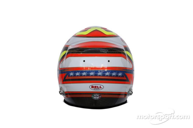 Il casco di Pastor Maldonado, Lotus F1 Team