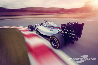 威廉姆斯马丁尼车队FW36发布