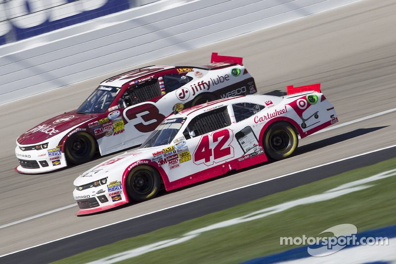 Kyle Larson and Ty Dillon