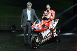 Ducati press conference, Andrea Dovizioso