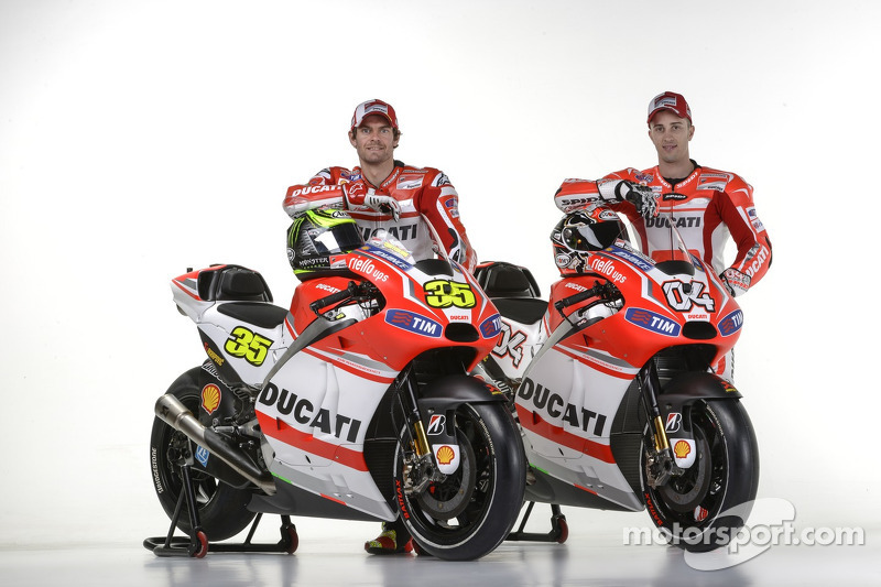 Ducati Desmosedici GP14, Cal Crutchlow, Andrea Dovizioso