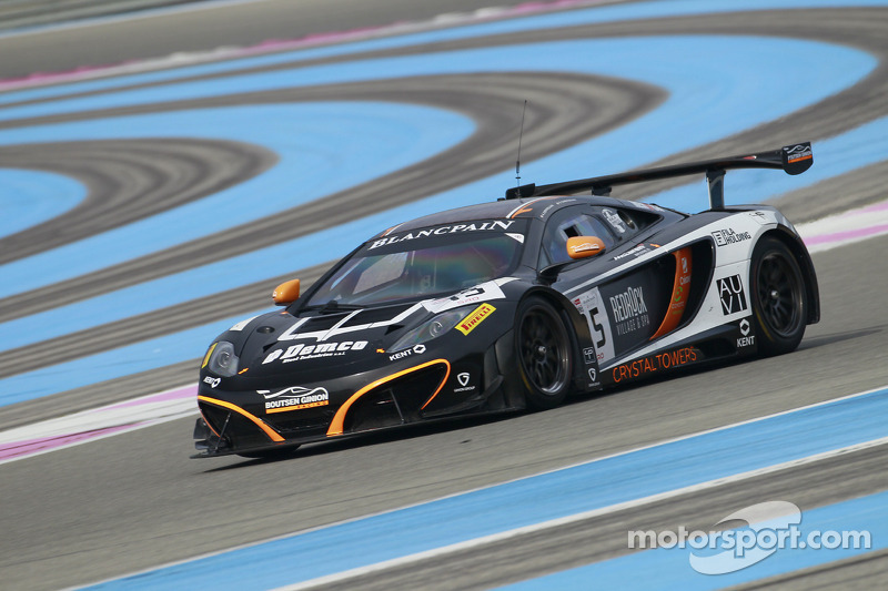 #15 Boutsen Ginion Racing 迈凯伦 MP4-12C
