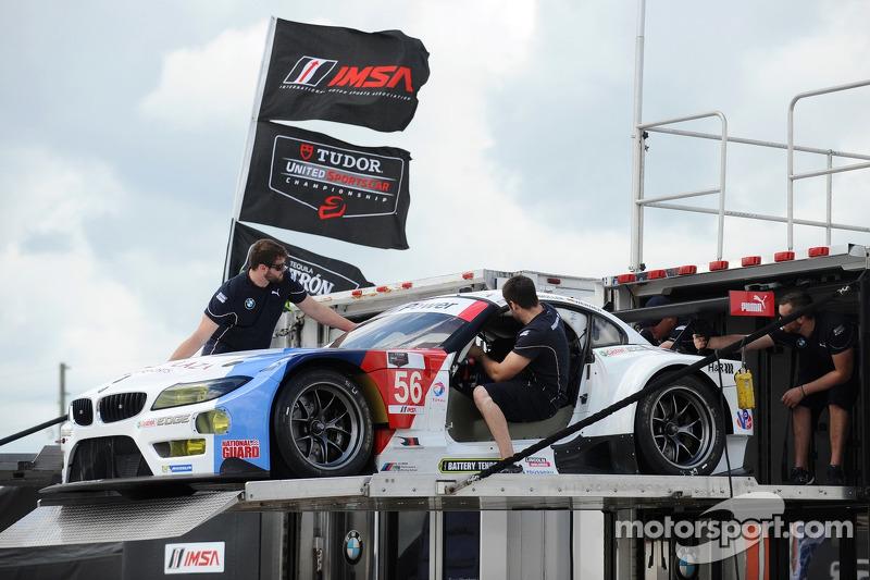 #56 宝马 Team RLL 宝马 Z4 GTE: 约翰·爱德华兹, 迪克·穆勒, 迪克·沃尔纳