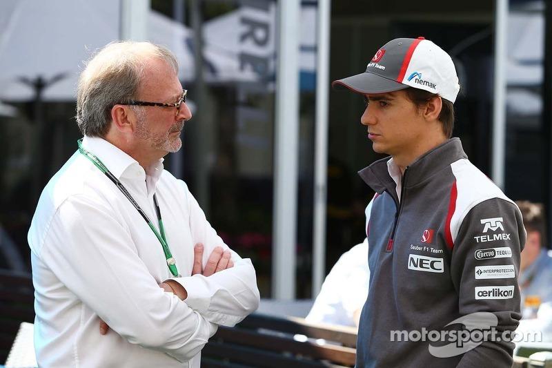 Esteban Gutierrez, Sauber ve Didier Coton, Pilot Menajeri