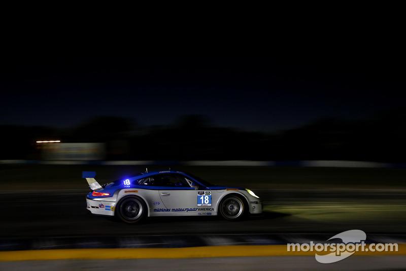 #18 Muehlner Motorsports America 保时捷 911 GT America: 埃尔·班博, 尼科·韦尔东克, 诺伯特·西德勒