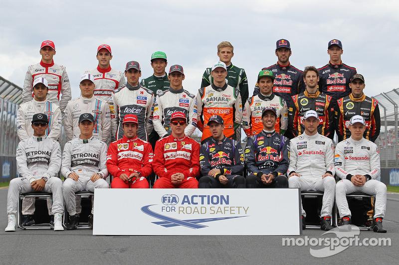 Пилоты Формулы 1 сезона-2014