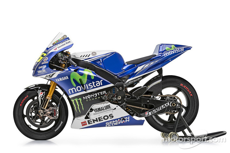 The Bike Of Valentino Rossi Yamaha Factory Racing At Yamaha
