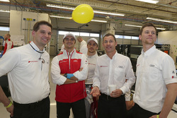 Matthias Huber, Marco Bonanomi (I), Filipe Albuquerque (P), Tom Kristensen (DK), Dominic Zeidtler
