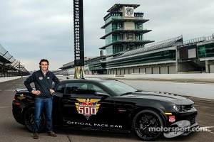 Dario Franchitti to drive the Indy 500 Camaro pace car