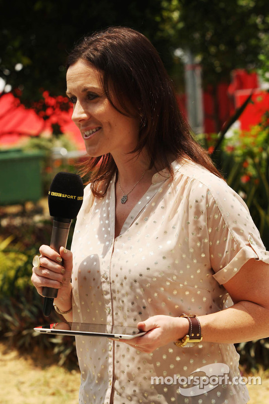 Lee McKenzie, repórter da BBC