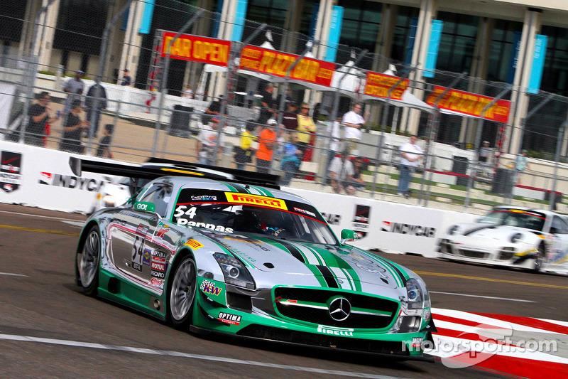 #54 Black Swan Racing 梅赛德斯 AMG SLS GT3: 蒂姆·帕帕斯