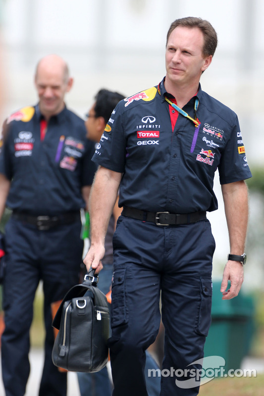 Christian Horner (GBR), Red Bull Racing, Teamchef