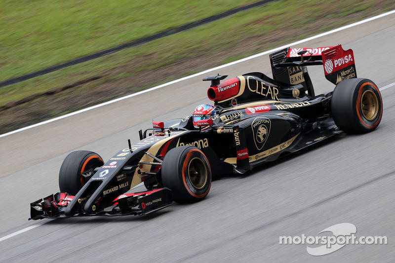 Romain Grosjean (FRA), Lotus F1 Team