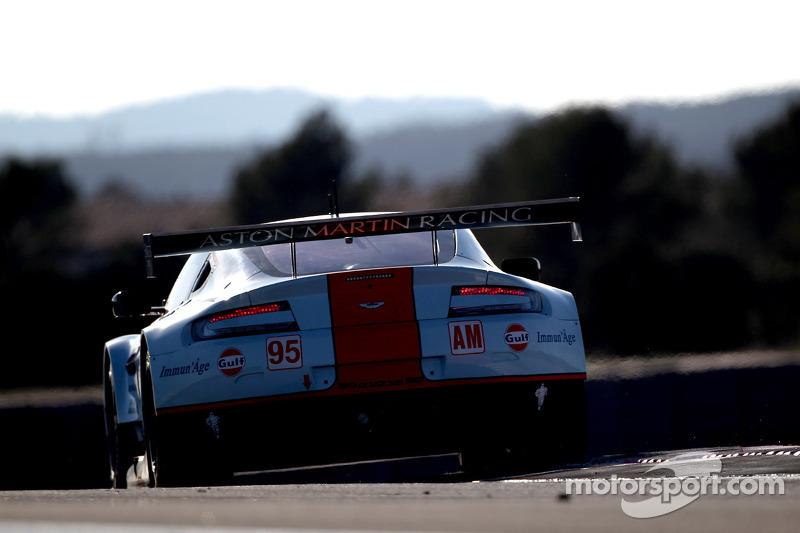 #95 AMR Aston Martin Vantage V8: Kristian Poulsen, Nicki Thiim