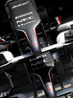 Sauber F1 Team front wings