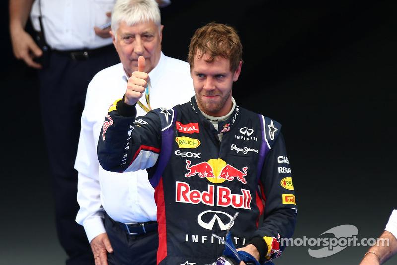 terceiro lugar Sebastian Vettel, Red Bull Racing