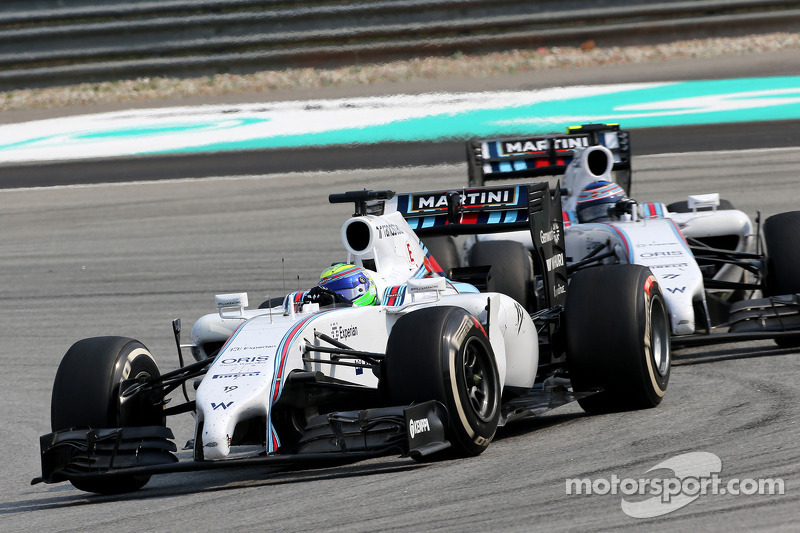 Felipe Massa (BRA), Williams F1 Team and Valtteri Bottas (FIN), Williams F1 Team 30
