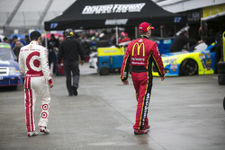 Kyle Larson and Jamie McMurray