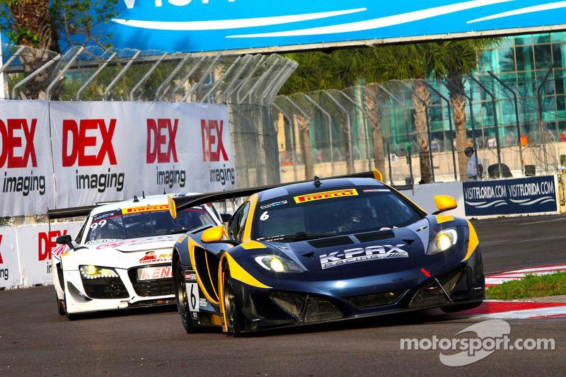 #6 K-PAX Racing 迈凯伦 MP4-12C GT3: 罗伯特·索恩