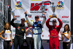 GTA领奖台:获胜者安迪·帕尔默,第二名阿尔伯特·冯·特恩和塔西斯