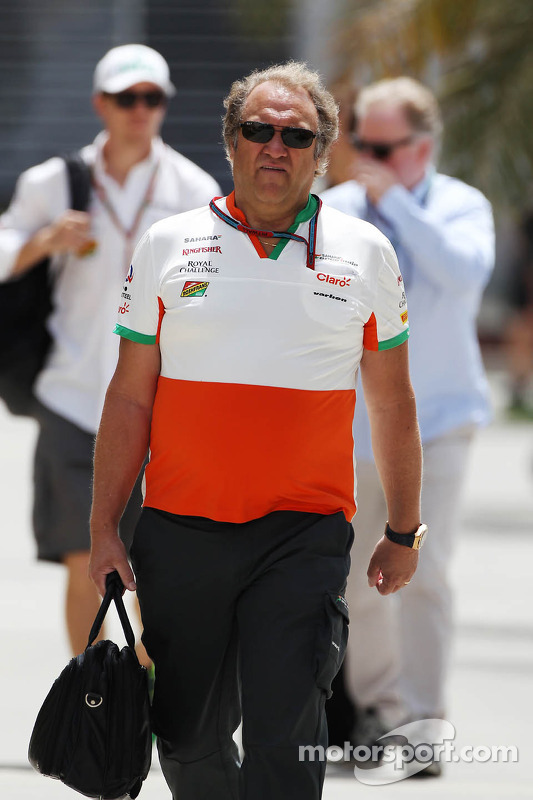 Robert Fernley, Sahara Force India F1 Team chefe da equipe
