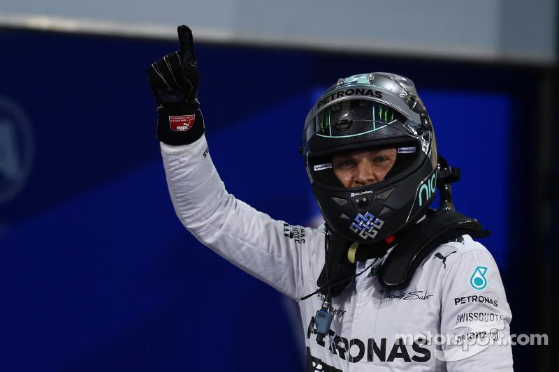 Pole per Nico Rosberg, Mercedes AMG F1