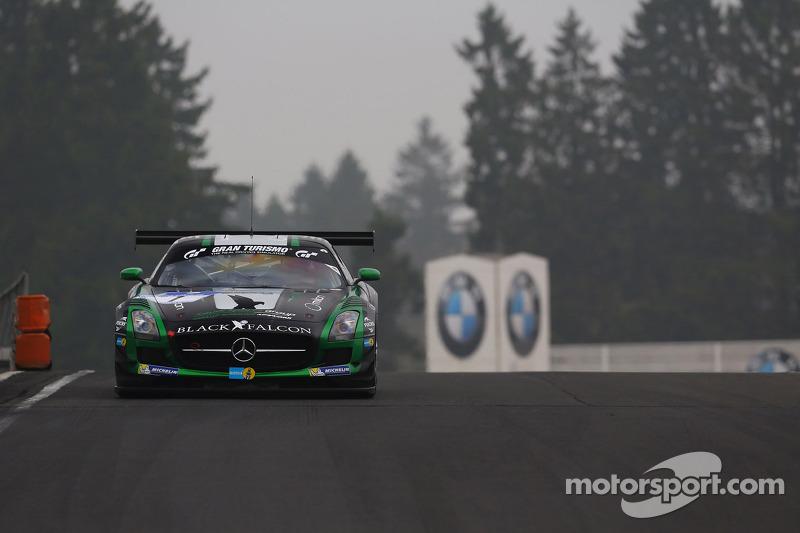 Abdulaziz Al Faisal, Christian Menzel, Jeroen Bleekemolen, Black Falcon, Mercedes-Benz SLS AMG GT3